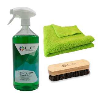 Leder Reinigung - Set Liquid Elements